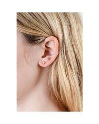 Lee Renee - Metallic Tiny Voodoo Ghede Earrings Gold Vermeil - Lyst