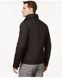 Michael Kors | Black Michael Oxford Hipster Jacket for Men | Lyst