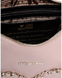Love Moschino - Pink Large Fabric Bag - Lyst