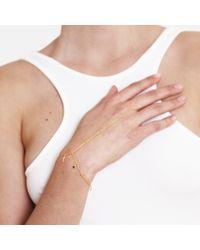Tada & Toy - Metallic Falling Star Hand Chain Gold - Lyst