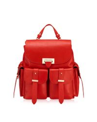 Aspinal - Red Rucksack - Lyst