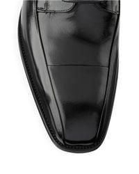 Kenneth Cole | Black Sur-plus Leather Oxfords for Men | Lyst