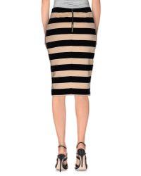 Nioi - Black Knee Length Skirt - Lyst