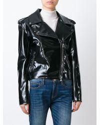 Wanda Nylon   Black Biker Jacket   Lyst