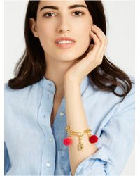 BaubleBar - Metallic Chained Up Charm Bracelet - Lyst