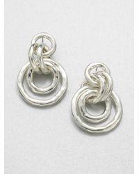 Ippolita | Metallic Glamazon Sterling Silver Mini Jet Set Drop Earrings | Lyst