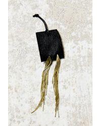Urban Outfitters - Metallic Modern Allure Snake Chain Drop Earring - Lyst