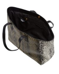 Marc By Marc Jacobs - Gray Multicolour Heres The Snake Leather Bag - Lyst