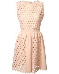 Fendi Pink Cut Out Dress