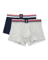 Psycho Bunny - Blue Motion Tagless Trunks Two-pack for Men - Lyst
