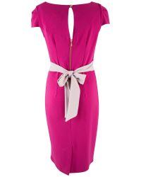 Closet | Pink Midi Pencil Dress | Lyst
