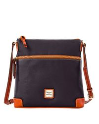 Dooney & Bourke | Red Pebbled Leather Crossbody Bag | Lyst