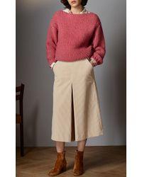 Vilshenko - Pink Neda Waffle Knit Sweater - Lyst