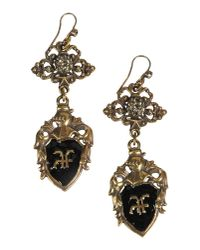 Alberta Ferretti | Black Earrings | Lyst