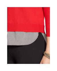 Ralph Lauren - Layered Crewneck Sweater - Lyst