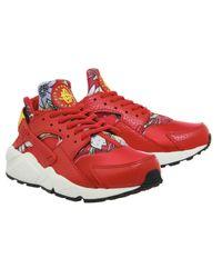 Nike Red Air Huarache