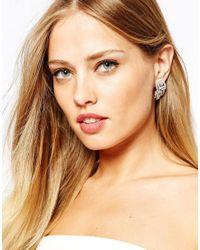 Coast | Metallic Deco Stud Earrings | Lyst