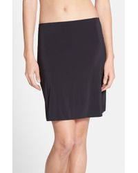 Yummie By Heather Thomson | Black 'astor' Skirt Slip | Lyst