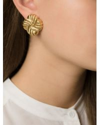 Nina Ricci - Metallic Stud Earrings - Lyst