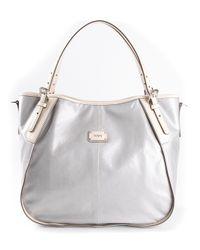 Tod's | Gray Gline Shopping Bag | Lyst