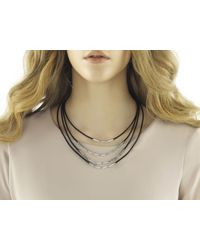 John Hardy - Metallic Bib Necklace - Lyst