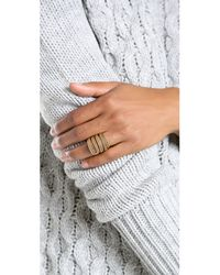A Peace Treaty | Metallic Yiizh Spiral Twist Ring - Gold | Lyst