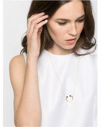 BaubleBar | Metallic Onyx Orb Pendant | Lyst