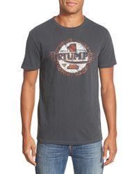 Lucky Brand - Gray 'triumph' Short Sleeve T-shirt for Men - Lyst