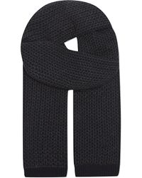 Brioni | Blue Links Cashmere Scarf for Men | Lyst