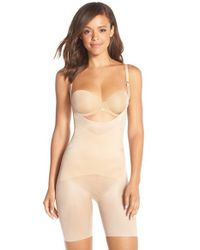 Spanx Natural 'skinny Britches' Underbust Mid Thigh Shaper