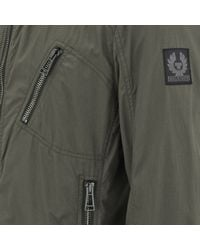 Belstaff Green Mens Kirkham Bomber Jacket for men