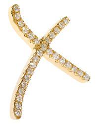 Stephen Webster - Metallic + Tracey Emin Love 18-karat Gold Diamond Earrings - Lyst