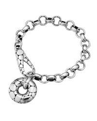 John Hardy Metallic Kali Circlecharm Link Bracelet