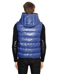 Duvetica Blue Aristeo Nylon Vest Down Jacket for men