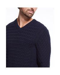 Theory - Blue Agnoss Sweater In Cashwool for Men - Lyst