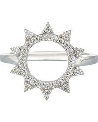 Deborah Pagani Metallic Women's Morningstar Ring