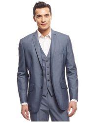 INC International Concepts Blue Turner Blazer for men
