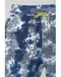 BDG - Blue Tiedye Terry Short for Men - Lyst