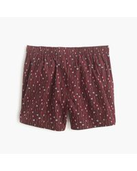 J.Crew | Red Ax Boxers for Men | Lyst