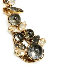 Erickson Beamon | Metallic 'Temporal Schism' Crystal Glass Bead Earrings | Lyst