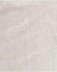 Zara | Natural Linen Trousers for Men | Lyst
