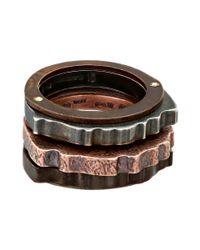 Bottega Veneta - Multicolor Ring 362075 - Lyst