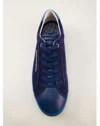 Dolce & Gabbana - Blue Lace-up Sneakers for Men - Lyst