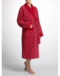 John Lewis Red Copenhagen Christmas Dressing Gown