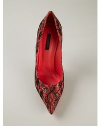 Dolce & Gabbana | Red 'Kate' Pumps | Lyst