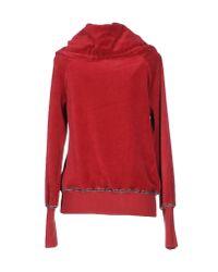 Roberta Scarpa - Red Sweatshirt - Lyst
