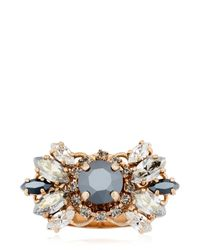 Anton Heunis | Metallic The Roaring Twenties Ring | Lyst