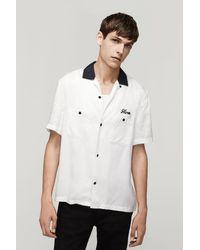 Rag & Bone - White Lane Shirt for Men - Lyst
