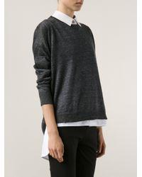 Rag & Bone Gray 'Josie' Sweater