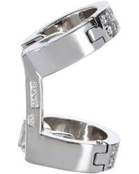 Repossi - Pavé Diamond White Gold Berbère Ear Cuff - Lyst
